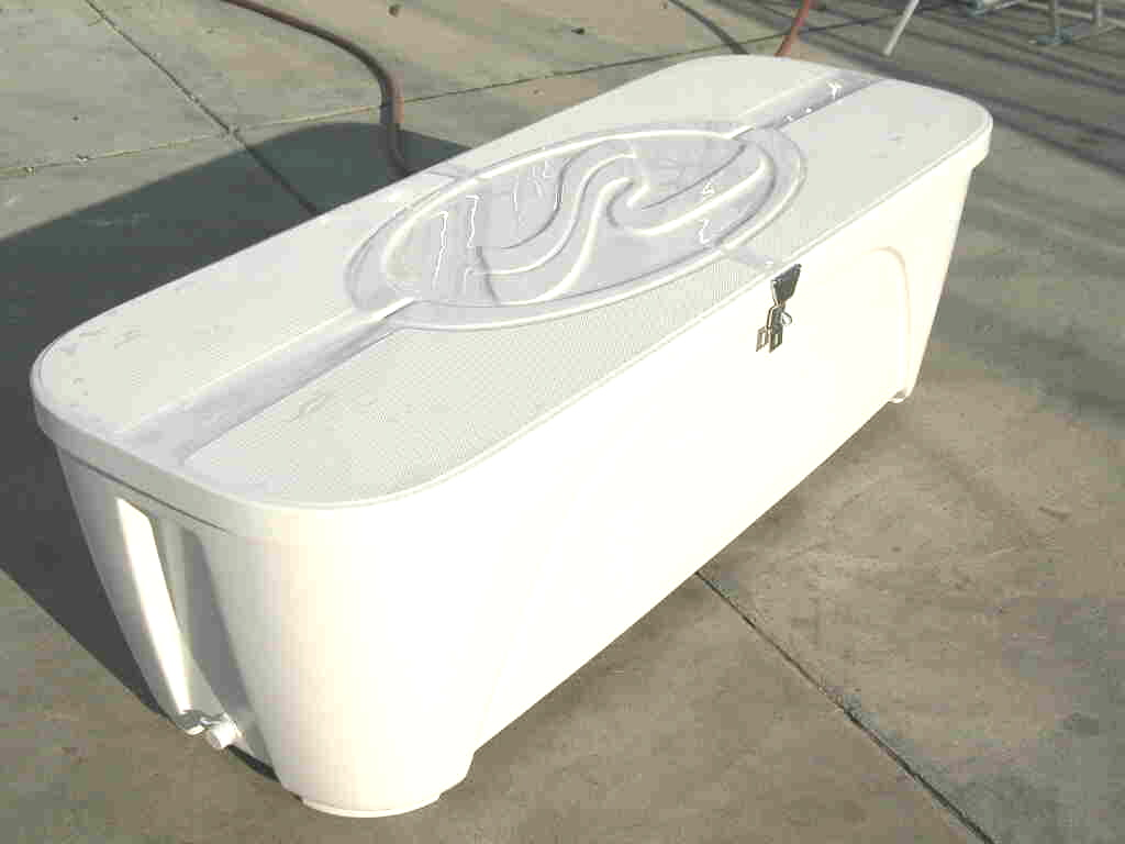 SeaRay insulated dock box