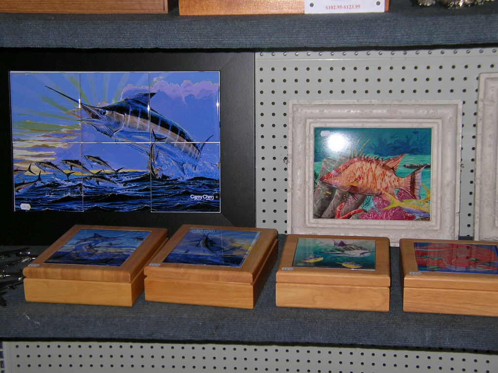 Nautical gifts and art