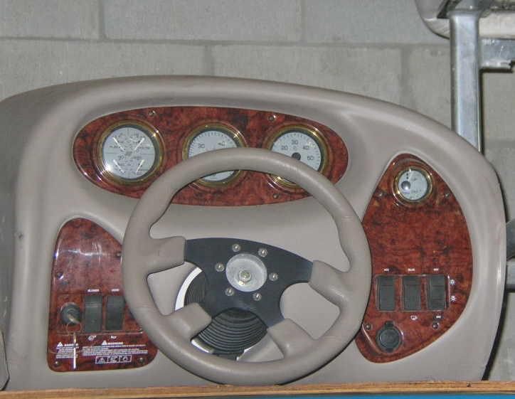 Tracker console